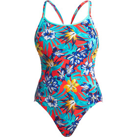 Funkita Diamond Back One Piece Swimsuit Dames, aloha from hawaii
